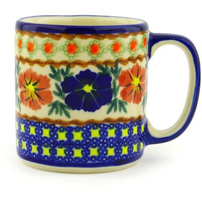 Polish Pottery 12 oz Mug | Boleslawiec Stoneware | Polmedia H2421F