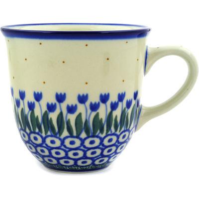 Polish Pottery 10 oz Mug | Boleslawiec Stoneware | Polmedia H6500D
