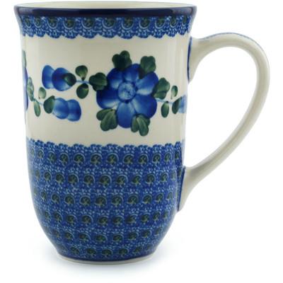 Polish Pottery 17 oz Mug | Boleslawiec Stoneware | Polmedia H4641I