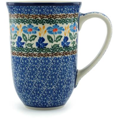 Polish Pottery 17 oz Mug | Boleslawiec Stoneware | Polmedia H5001I