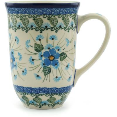 Polish Pottery 17 oz Mug | Boleslawiec Stoneware | Polmedia H5005I
