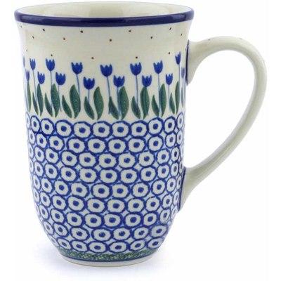 Polish Pottery 17 oz Mug   Boleslawiec Stoneware   Polmedia H0534J