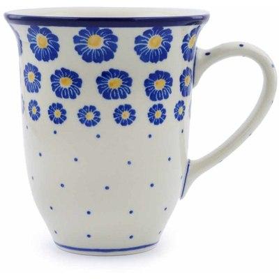 Polish Pottery 15 oz Mug | Boleslawiec Stoneware | Polmedia H0349J