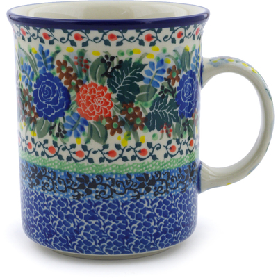 Polish Pottery 20 oz Mug | Boleslawiec Stoneware | Polmedia H3639I