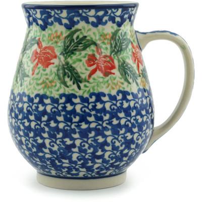 Polish Pottery 17 oz Mug | Boleslawiec Stoneware | Polmedia H5032I