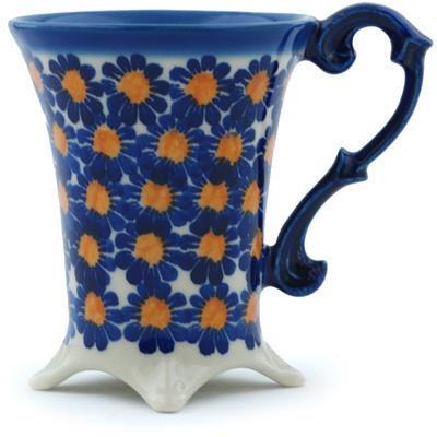 Polish Pottery 5 oz Mug | Boleslawiec Stoneware | Polmedia H9493H