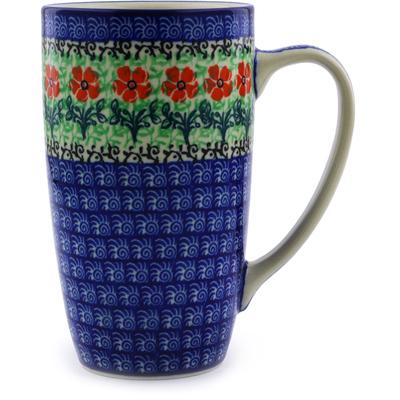 Polish Pottery 15 oz Mug | Boleslawiec Stoneware | Polmedia H6692I