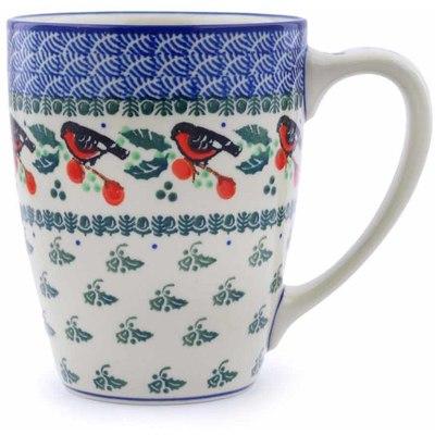 Polish Pottery 22 oz Mug | Boleslawiec Stoneware | Polmedia H0098J