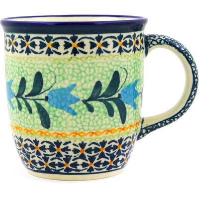 Polish Pottery 12 oz Mug | Boleslawiec Stoneware | Polmedia H7480D