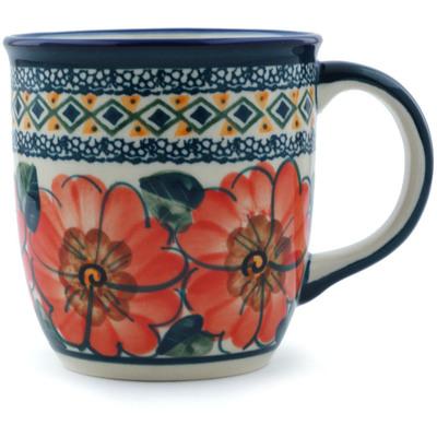 Polish Pottery 12 oz Mug | Boleslawiec Stoneware | Polmedia H0277A