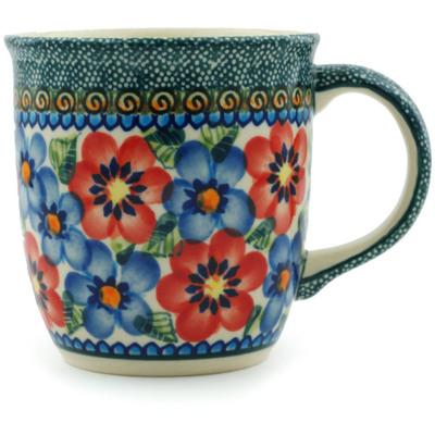 Polish Pottery 12 oz Mug | Boleslawiec Stoneware | Polmedia H8710B