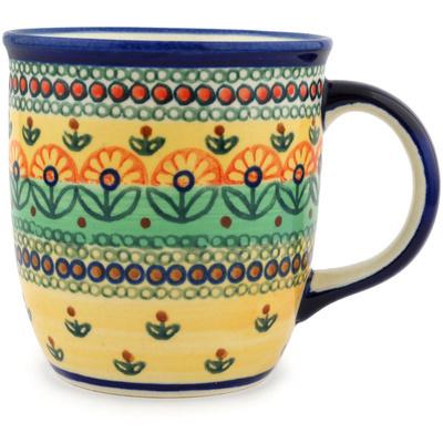Polish Pottery 12 oz Mug | Boleslawiec Stoneware | Polmedia H6226C