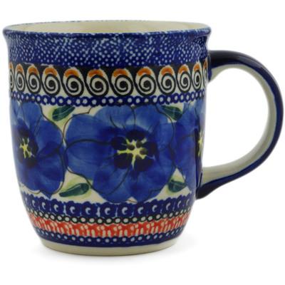Polish Pottery 12 oz Mug | Boleslawiec Stoneware | Polmedia H8714B
