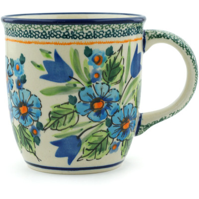 Polish Pottery 12 oz Mug | Boleslawiec Stoneware | Polmedia H1867C