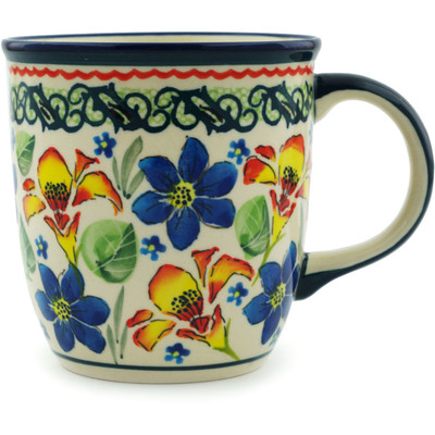 Polish Pottery 12 oz Mug | Boleslawiec Stoneware | Polmedia H2010I