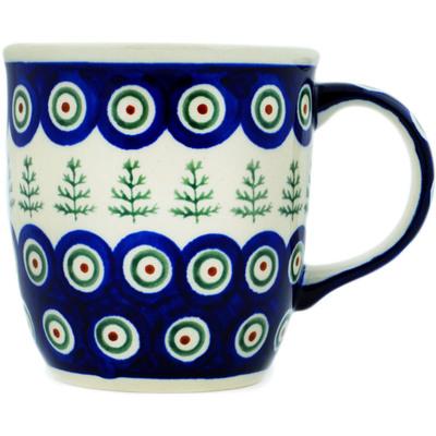 Polish Pottery 12 oz Mug | Boleslawiec Stoneware | Polmedia H4253C