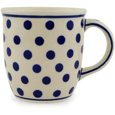 Polish Pottery 12 oz Mug | Boleslawiec Stoneware | Polmedia H6235C