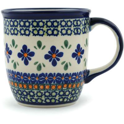 Polish Pottery 12 oz Mug | Boleslawiec Stoneware | Polmedia H0280A