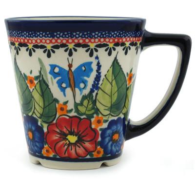 Polish Pottery 13 oz Mug | Boleslawiec Stoneware | Polmedia H4889I