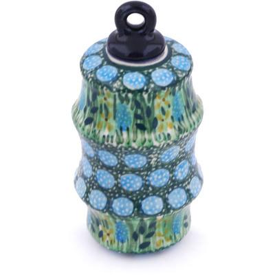 Polish Pottery 4-inch Ornament Christmas Ball | Boleslawiec Stoneware | Polmedia H5395G
