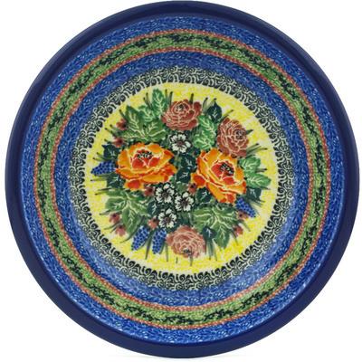 Polish Pottery 8-inch Pasta Bowl | Boleslawiec Stoneware | Polmedia H2388H