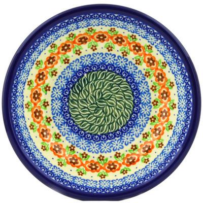 Polish Pottery 8-inch Pasta Bowl   Boleslawiec Stoneware   Polmedia H7018F