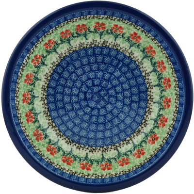 Polish Pottery 8-inch Pasta Bowl | Boleslawiec Stoneware | Polmedia H3190I