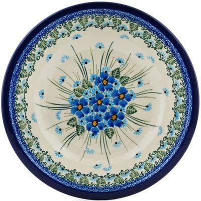 Polish Pottery 8-inch Pasta Bowl   Boleslawiec Stoneware   Polmedia H0660I