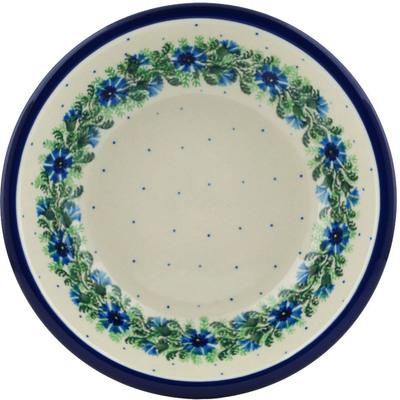 Polish Pottery 8-inch Pasta Bowl | Boleslawiec Stoneware | Polmedia H2808A