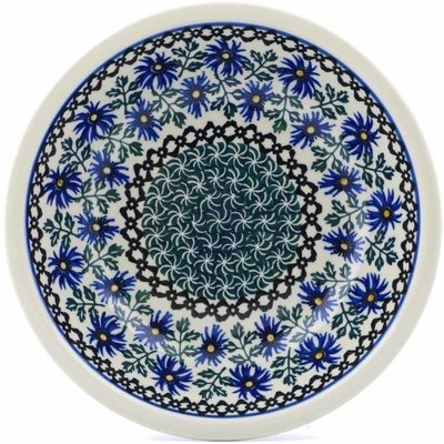 Polish Pottery 8-inch Pasta Bowl | Boleslawiec Stoneware | Polmedia H3530B