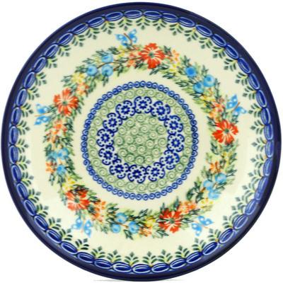 Polish Pottery 8-inch Pasta Bowl | Boleslawiec Stoneware | Polmedia H8335H