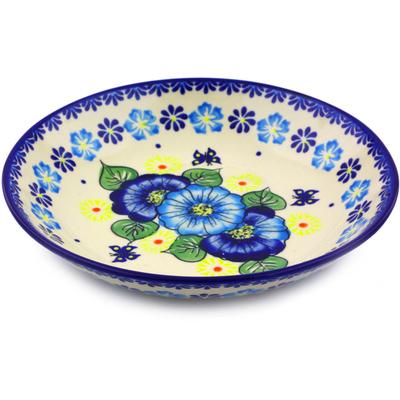 Polish Pottery 8-inch Pasta Bowl | Boleslawiec Stoneware | Polmedia H0106J