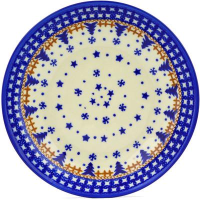 Polish Pottery 8-inch Pasta Bowl | Boleslawiec Stoneware | Polmedia H8818E