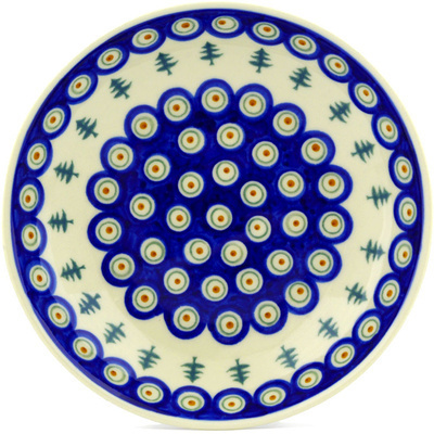 Polish Pottery 8-inch Pasta Bowl | Boleslawiec Stoneware | Polmedia H8819E
