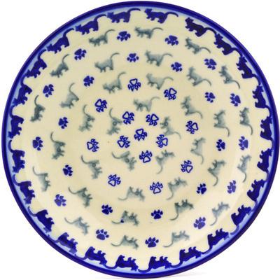 Polish Pottery 8-inch Pasta Bowl | Boleslawiec Stoneware | Polmedia H1799G