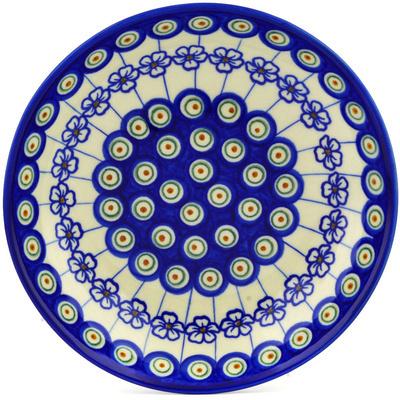 Polish Pottery 8-inch Pasta Bowl | Boleslawiec Stoneware | Polmedia H0930F