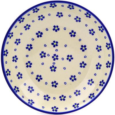 Polish Pottery 8-inch Pasta Bowl | Boleslawiec Stoneware | Polmedia H3567E