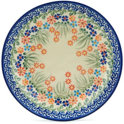 Polish Pottery 8-inch Pasta Bowl   Boleslawiec Stoneware   Polmedia H9189H