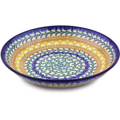 Polish Pottery 8-inch Pasta Bowl | Boleslawiec Stoneware | Polmedia H0105J