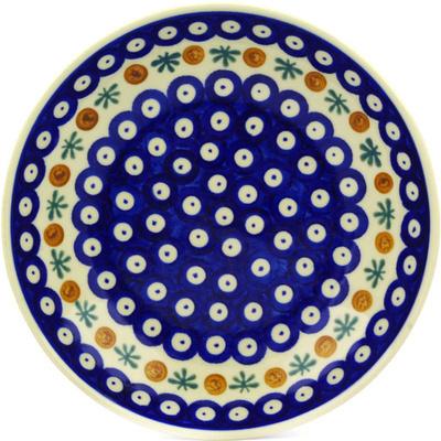 Polish Pottery 8-inch Pasta Bowl | Boleslawiec Stoneware | Polmedia H0504C