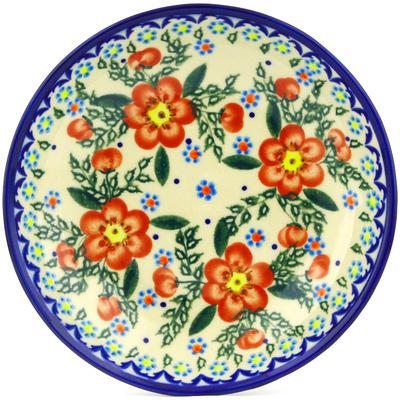 Polish Pottery 8-inch Pasta Bowl | Boleslawiec Stoneware | Polmedia H0382C