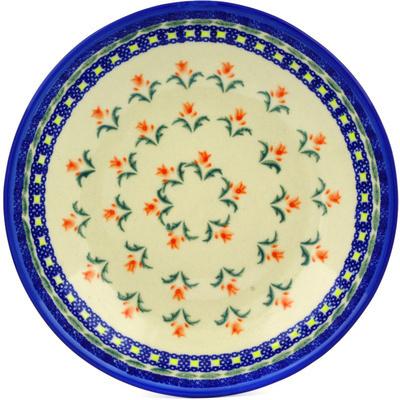 Polish Pottery 8-inch Pasta Bowl | Boleslawiec Stoneware | Polmedia H0569C