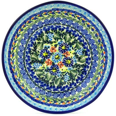 Polish Pottery 8-inch Pasta Bowl   Boleslawiec Stoneware   Polmedia H0428H