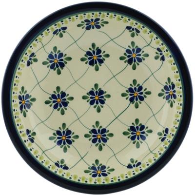 Polish Pottery 9-inch Pasta Bowl | Boleslawiec Stoneware | Polmedia H6558C