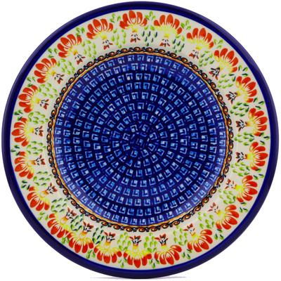 Polish Pottery 9-inch Pasta Bowl | Boleslawiec Stoneware | Polmedia H8079I