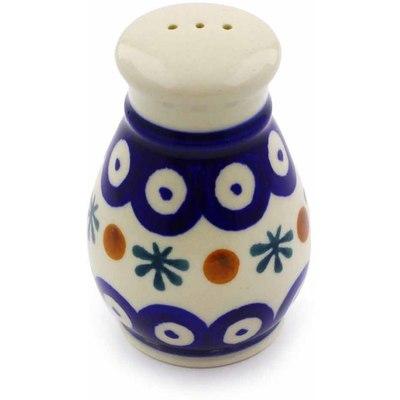 Polish Pottery 3-inch Pepper Shaker | Boleslawiec Stoneware | Polmedia H7101I