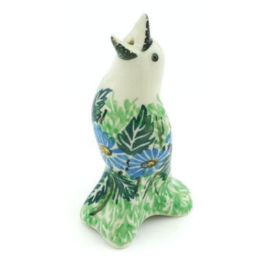 Polish Pottery 4-inch Pie Bird | Boleslawiec Stoneware | Polmedia H1129H