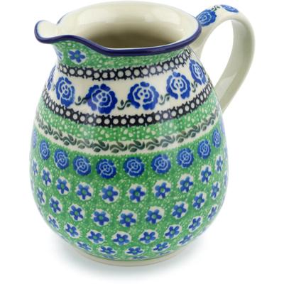 Polish Pottery 30 oz Pitcher | Boleslawiec Stoneware | Polmedia H7756H