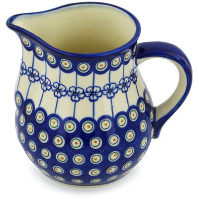 Polish Pottery 68 oz Pitcher | Boleslawiec Stoneware | Polmedia H1278H