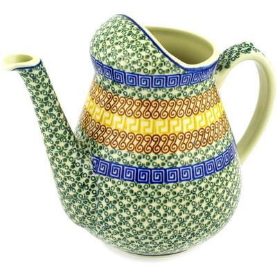 Polish Pottery 71 oz Pitcher | Boleslawiec Stoneware | Polmedia H1446D